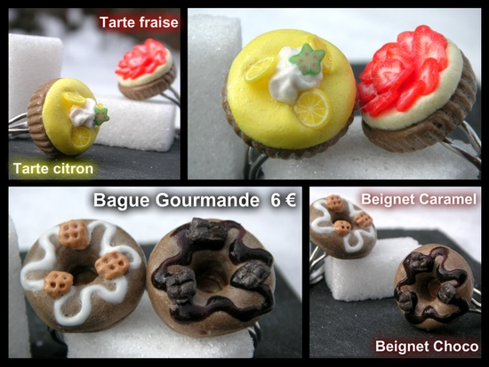 Bague Tarte&Beignet