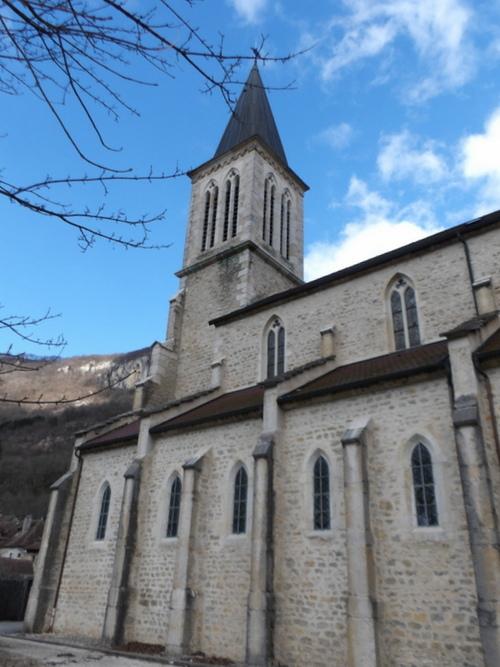 L'église de La Burbanche