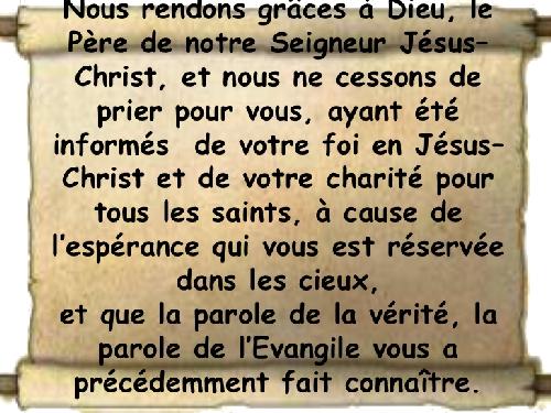 """La pensée du jour : """" Les six phases de la foi """""""