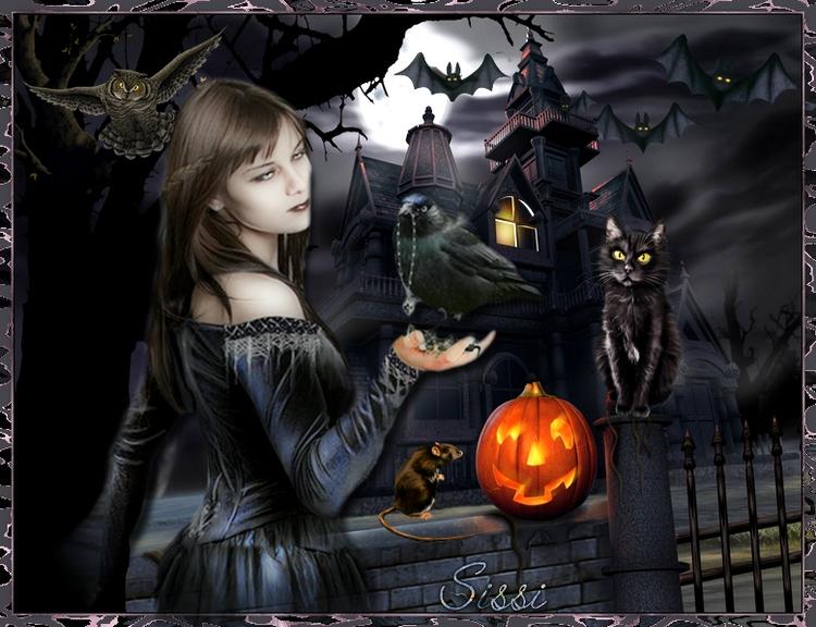 *Halloween * Défi de chez Nathie *