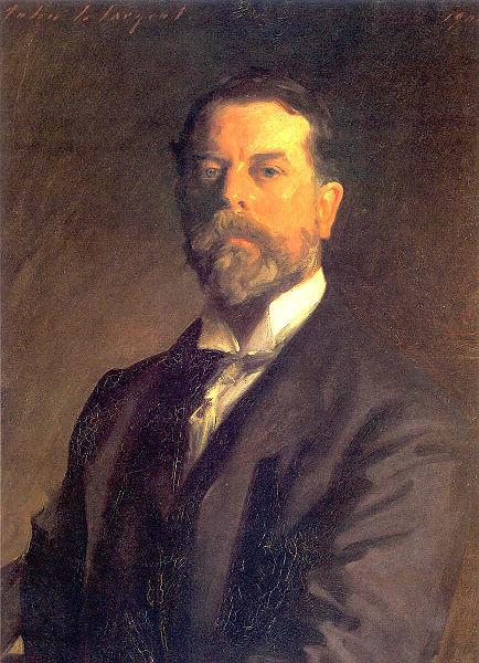 John Singer Sargent, peintre américain du XIXè siècle.