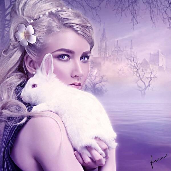 Belles dames et animaux