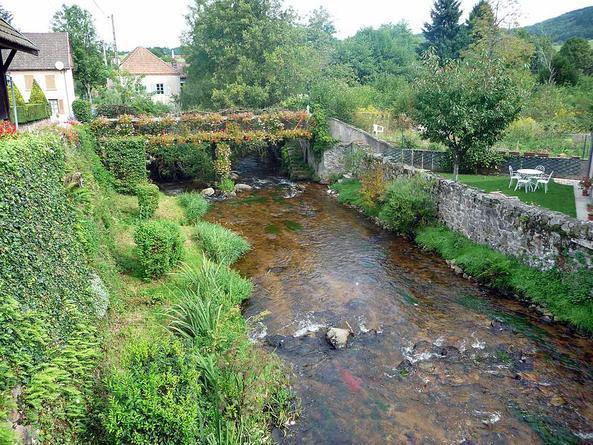 Vézelay - Le Puy en Velay 2010 - Repos à Arfeuilles