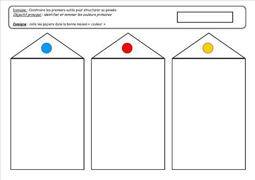 Tri de couleurs : les couleurs primaires