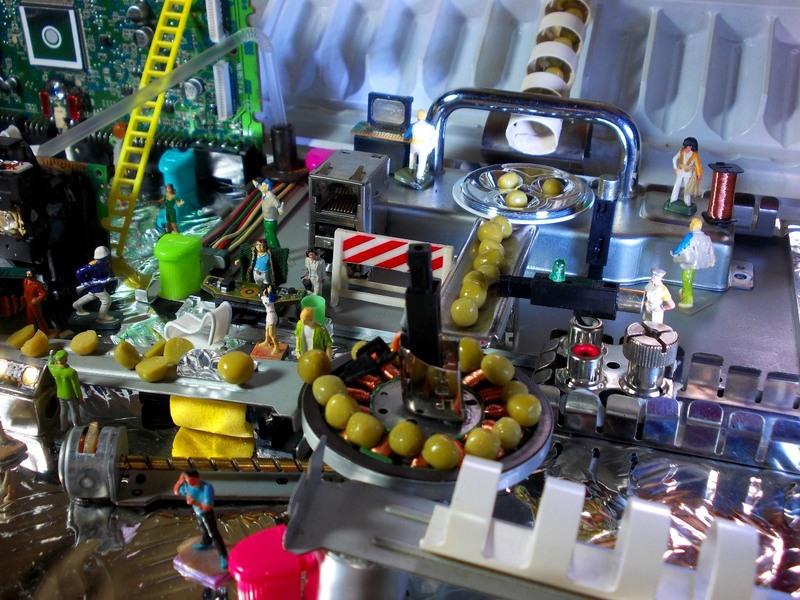 Aujourd'hui : une usine de petits pois enrichis et une exploration sur table avec collecte d'échantillons.