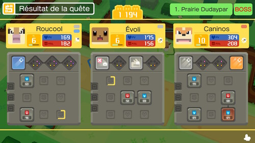 Pokemon Quest (Switch) - Mes premières impressions