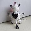 Petite Vache à tâches version 2 (derrière)