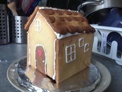 Maison en biscuit sablé