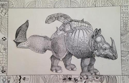 Le rhinocéros de Dürer