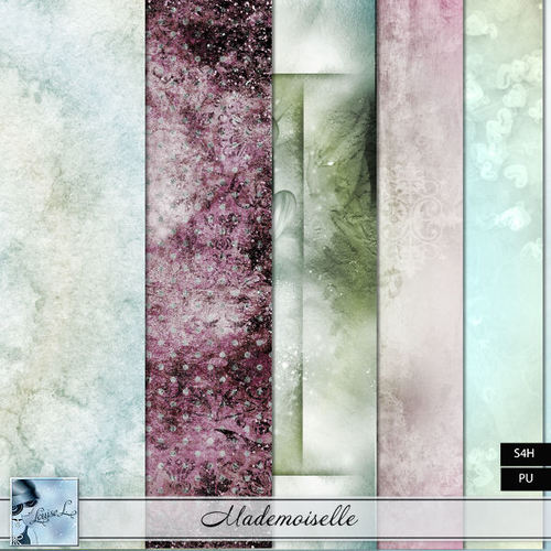 Mademoiselle by Louise L + freebie