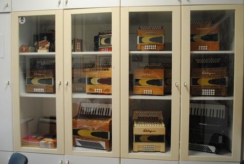 Les accordéons...