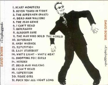 Le choix des lecteurs (8): David Bowie - Unplugged