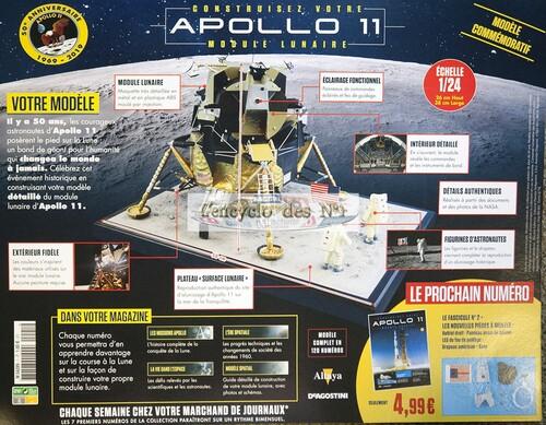 N° 1 Construisez votre module lunaire Apollon 11 - Test