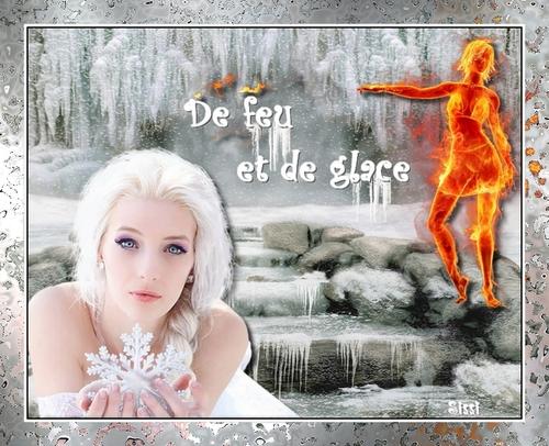 """Défi chez Fée Capucine """"De feu et de glace"""""""
