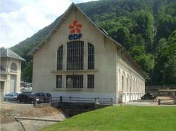 Visite de la centrale hydroélectrique de Luchon