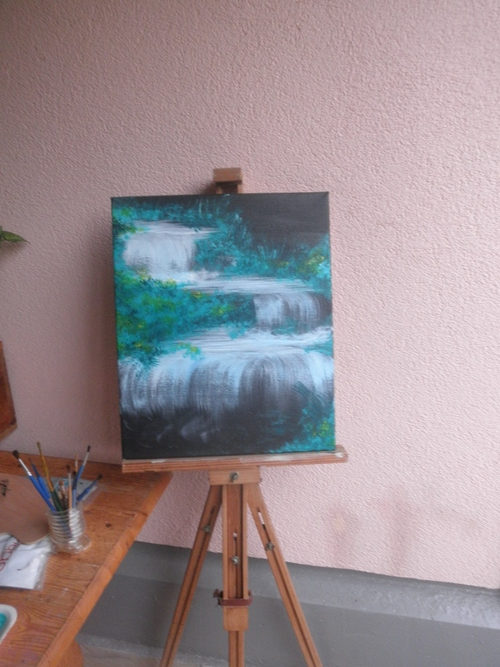 Peinture cascades