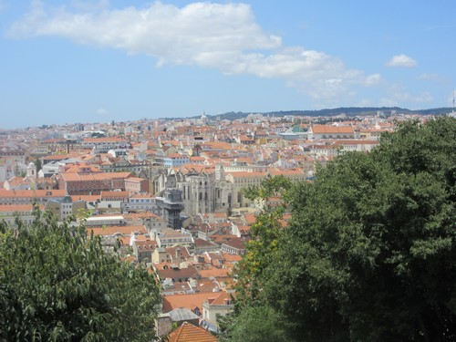 Portugal 12 - Castelo de Sao Jorge à Lisbonne