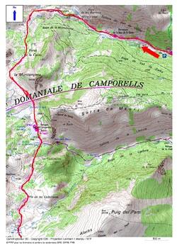 Tour du Capcir - Etape 3 Gîte Le Moulin à Rieutort - Les Bones Hores aux Bouillouses