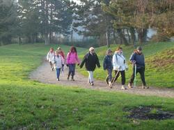 La randonnée du 14 janvier  à Fleury-sur-Orne