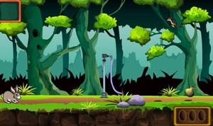Jouer à Forest little bunny rescue