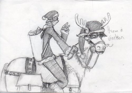 L'histoire du renne à réaction