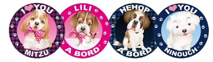 DOGGY STICKERS