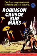 Robinson Crusoe sur Mars (1964) : Échoué sur Mars avec pour seul compagnon, Mona, un singe, le seul astronaute rescapé de la premiére mission américaine, le commandant Chris Draper, doit se débrouiller pour trouver de l'oxygène, de l'eau et de la nourriture sur cette planète stérile et hostile . Grâce à Mona, il découvrira de quoi subsister .Un jour il rencontre et sauve un esclave alien poursuivi par des négriers du cosmos, il parviendra à établir la communication avec cet être (qui vient de la ceinture d'Orion) et ils deviendront amis.Mettant leurs ressources en commun, Draper et Vendredi entreprennent un voyage vers le pôle nord martien afin d'échapper aux bourreaux extra-terrestres. Après maints périls tant physiques que météorologique ils seront sauvés par une mission de secours . ..... ----- ..... Réalisateur(s) : Byron Haskin Acteurs(s) : Paul Mantee, Victor Lundin, Adam West, The Woolly Monkey Genre(s) : Drame, Science-Fiction Année de sortie(s) : 1964 Pays : United States of America