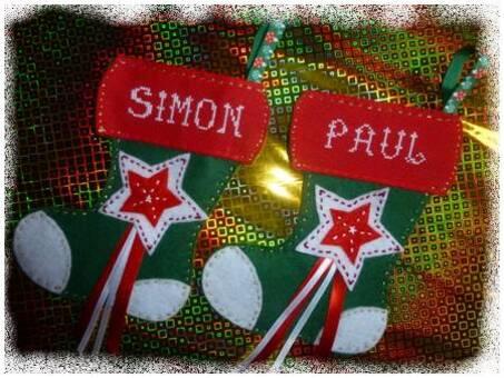 Bottes de Noël