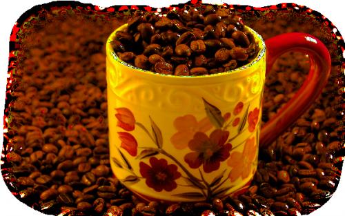 tube café petit déjeuner