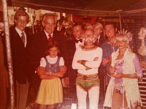 visite princière au cirque Jean Richard