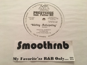 PRESTEEGE - WAITING ANTICIPATING/ DO YOU RECALL (VLS 1997)