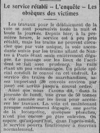 24 juin 1912, catastrophe férroviaire à la Pointe-Bouchemaine