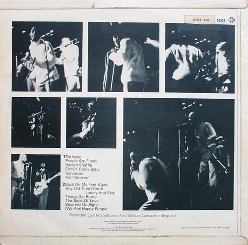 "The Foundations : Album "" Rocking The Foundations "" Pye Records NSPL.18227 [ UK ]"