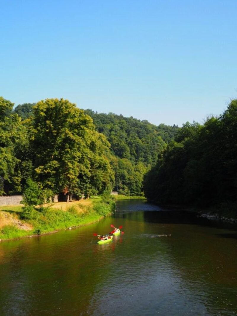 Weekend nature en Ardenne : Durbuy, Grottes de Hotton (WALLONIE)