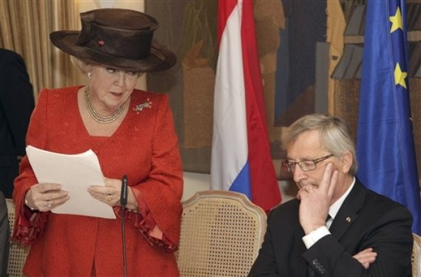 Beatrix au Luxembourg