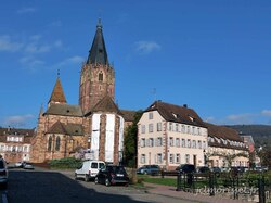 l'abbataile Saints Pierre et Paul à Wissembourg