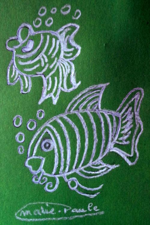 Cinq poissons supplémentaires