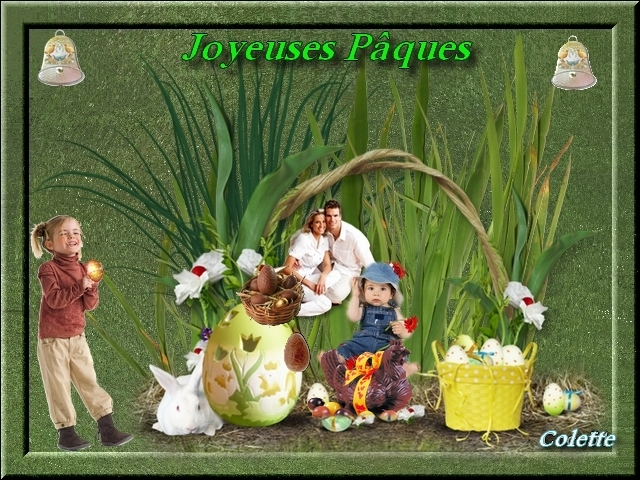 Mes montages Pâques