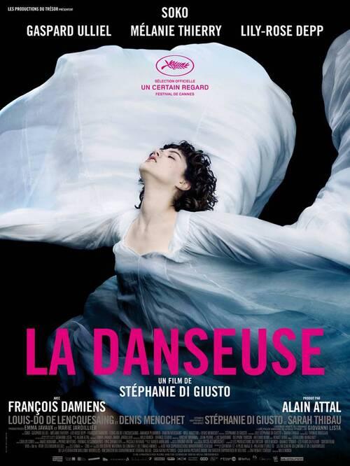 La danseuse (BANDE ANNONCE) avec Soko, Gaspard Ulliel, Mélanie Thierry, Lily-Rose Depp, François Damiens - Le 28 septembre 2016 au cinéma