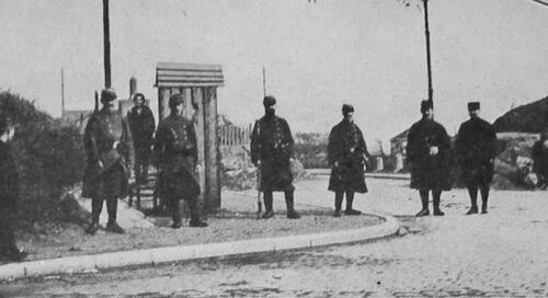 4 août 1914: Calais devient un camp retranché