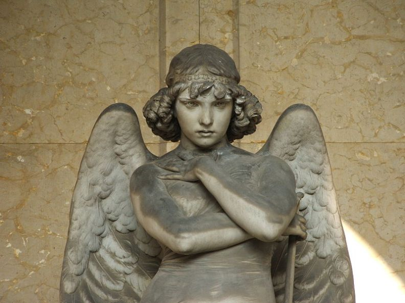 Des anges bouclés