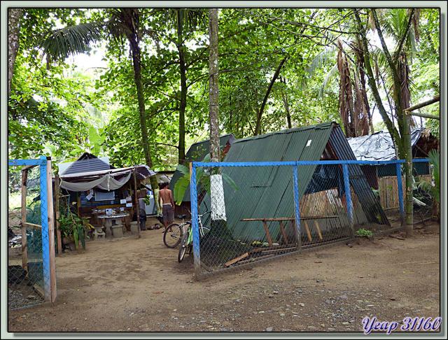 Blog de images-du-pays-des-ours : Images du Pays des Ours (et d'ailleurs ...), Mi Camping Paradis, mi Motel Palace: accès direct à la plage, Puerto Viejo de Talamanca, Costa Rica
