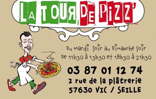 Carte LaTour de Pizz'