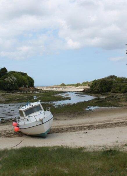 Plage de Kervaliou à Port Neuf 056