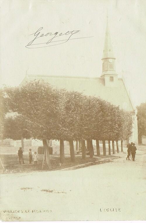 Les tilleuls de la place de l'église