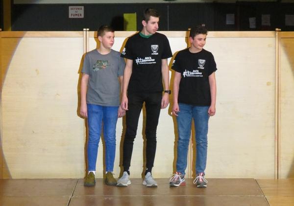 """La soirée des """" Lauriers du Sport"""", dédiée aux sportifs Châtillonnais, a eu lieu dans la salle Désiré Vêque de Châtillon sur Seine"""