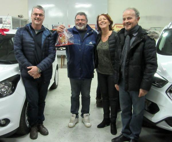 Remise des prix de la Quinzaine Commerciale 2017 des Vitrines Châtillonnaises