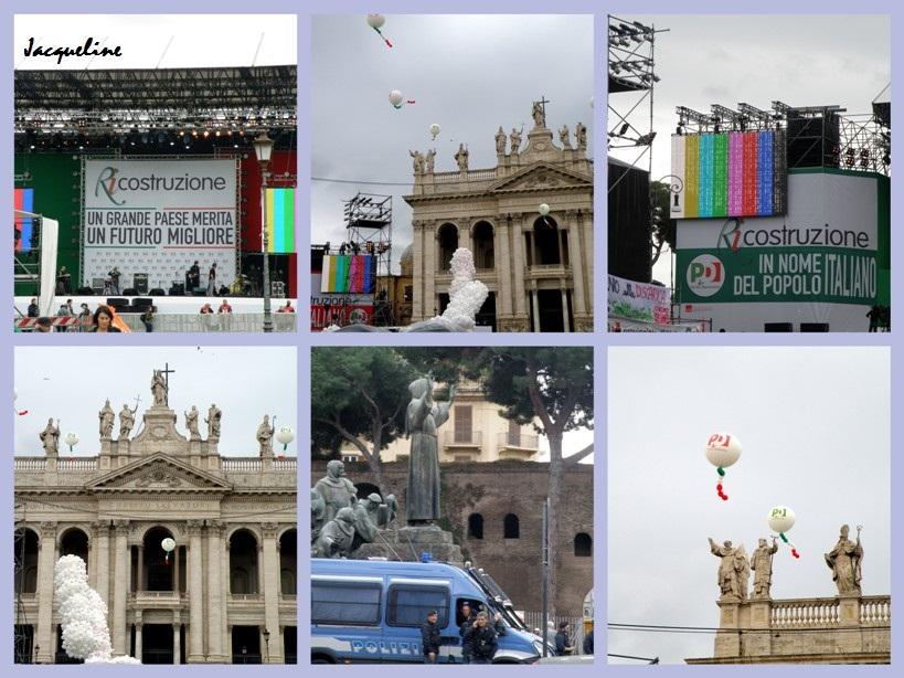 ça gronde à Rome!