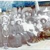 une grande famille années 1900