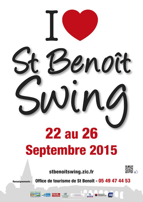 13 ème Festival Saint Benoit Swing 23 au 26 septembre 2015